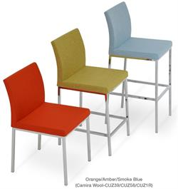 Aria Chrome Dining Chairs