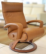 Gaga Recliner Chestnut Lafer Recliner