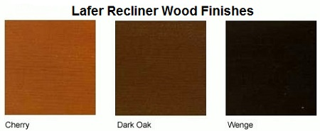 Lafer Recliner Wood Color Finish