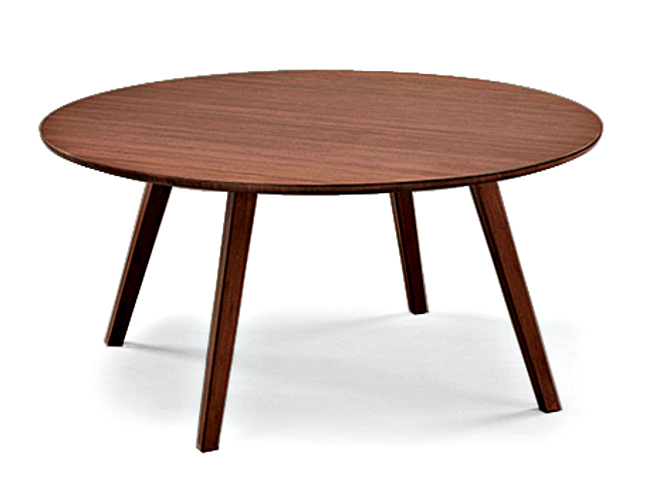Currant Coffee Table Round Greenington Bamboo Furniture