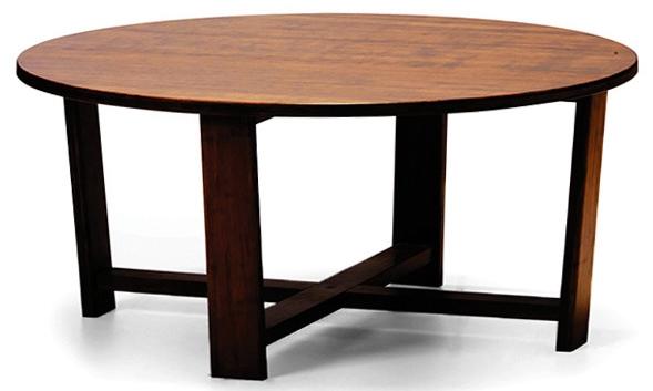 Daisy Coffee Table Round Greenington Bamboo Furniture