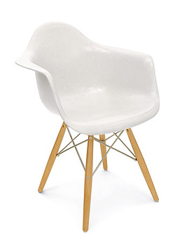 Armchair Case Study Arm Shell Dowel Chair Modernica Seating
