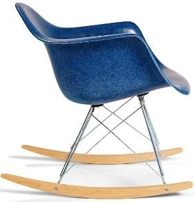 Arm Shell Rocker Case Study Fiberglass Rocking Chair Modernica