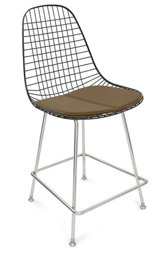 Modernica Case Study Wire Chair H Base Bar Stool Modernica