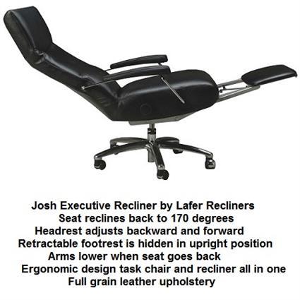 Executive Recliner Chair Josh Lafer Executive Recliner Chair  sc 1 st  Accurato.com & Recliner Chair Josh Executive Leather Office Chair Recliner Lafer Josh islam-shia.org