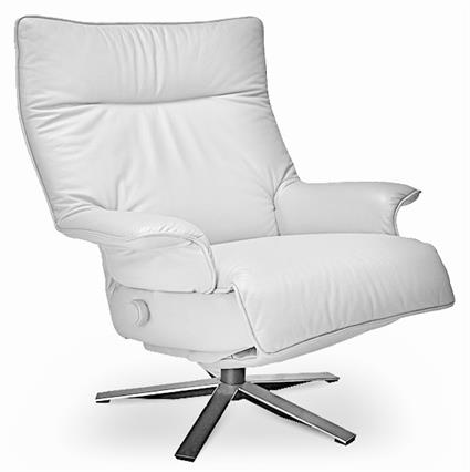 sc 1 st  Accurato.com & Recliner Valentina Lafer Reclining Chair Leather Swivel Recliner Chair islam-shia.org