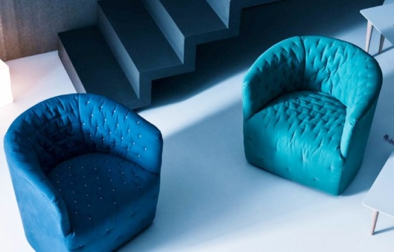 Saba Italia Amelie Lounge Chair Saba Italia Amelie