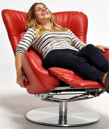 Lafer Amy Ergonomic Recliner Modern Swivel Amy Gl Recliner