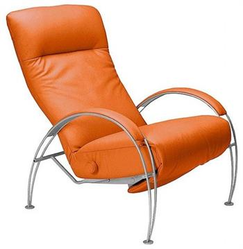 Lafer Reclining Chair Ergonomic Lafer Billie Leather
