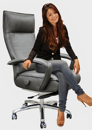 sc 1 st  Accurato.com & Executive Chair Lafer Gaga Executive Recliner Leather Office Recliner islam-shia.org