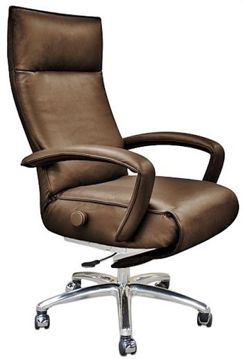 Lafer Gaga Executive Recliner Chair Leather Office