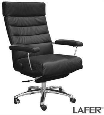 Recliner Adele Executive Recliner Chair Lafer Leather Office Recliner