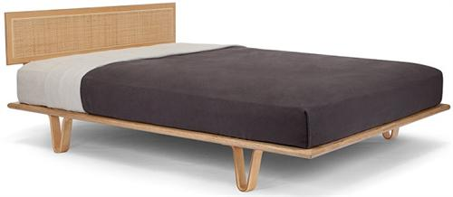 Case Study Bentwood Bed Cane Headboard Modernica Bed