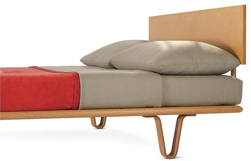 Modernica Case Study Bent Wood Bed Case Study Bed