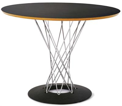 "Dining Table Noguchi Cyclone Table 36"" Modernica Noguchi Table"