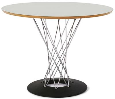 "Dining Table Noguchi Cyclone Table 48"" Modernica"