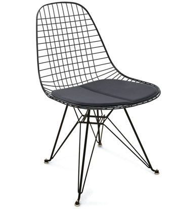 Eiffel Tower Wire Chair + Eiffel Tower Bases Modernica Wire Chairs