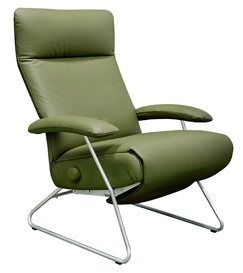 Recliner Chair Demi Lafer Recliner Chair Fixed Base Leather Recliner