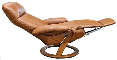 Lafer Taylor Recliner Chair Leather Recliner Chair by Lafer Furniture