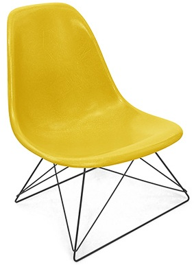 Case Study Side Shell Low Rod Chair Modernica Fiberglass Chairs