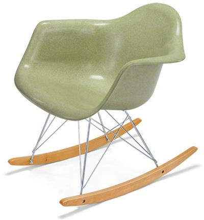 Arm Shell Rocker Case Study Fiberglass Rocking Chair Modernica
