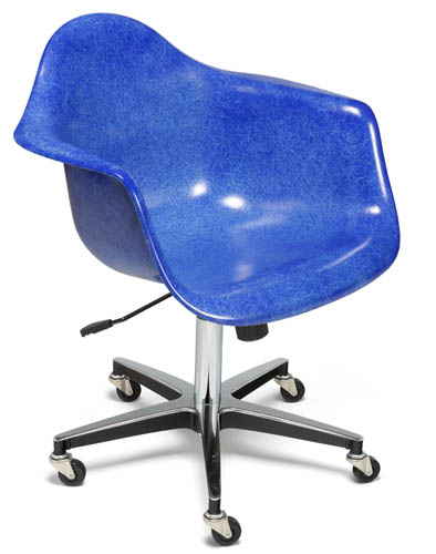 modernica case study arm shell rolling chair office chair - Rolling Chair