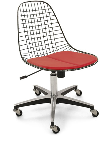 Case Study Wire Chair Rolling Base Modernica Task Office Chair
