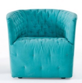 Amelie Armchair Swivel Sergio Bicego Saba Italian Furniture
