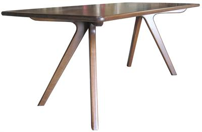 Charles Table Wood Dining Table Nuans Design Furniture