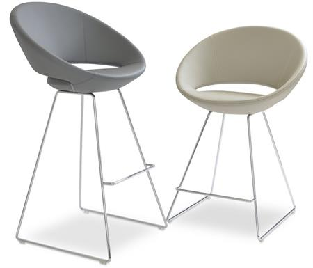 Soho Concept Crescent Wire Stool Barstool Counter Stool