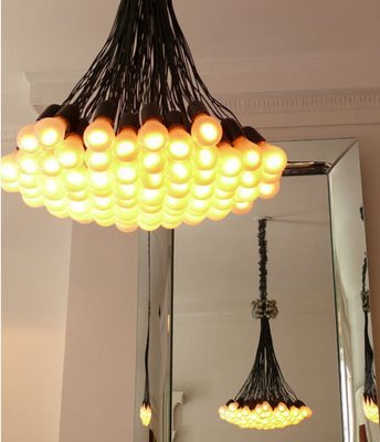 Droog 85 Lamps Chandelier 85 Lamps Droog Lighting LED