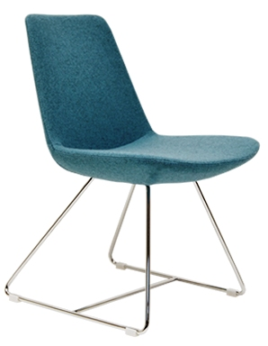 Dining Chair Eiffel Wire Chair by Soho Concept