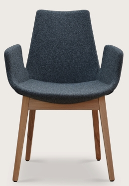 An Eiffel Wood Armchair Dining Chair Soho Concept