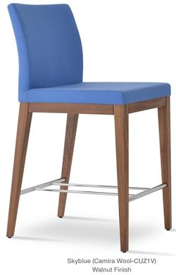 Soho Concept Aria Wood Modern Bar Stool Bar Furniture