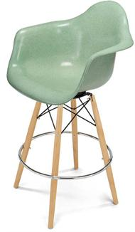 Barstool Counter Stool Dowel Armchair Modernica Bar Chair