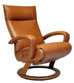 Lafer Gaga Recliner Wood Base or Silver Base