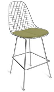 A Barstool HBase Wire Chair + Modernica Counter Wire Stool