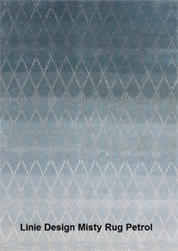 Misty Rug Linie Design Area Rug Misty