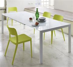 Dining Table Opla Extension Table MIDJ in Italy