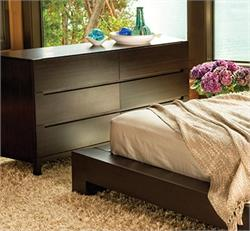 Orchid Six Drawer Dresser Greenington Bamboo Bedroom Furniture