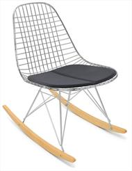Rocker Wire Chair Case Study Rockers Modernica Wire Chairs