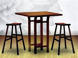 Bar Table Tulip Pub Table by Greenington Bamboo Furniture