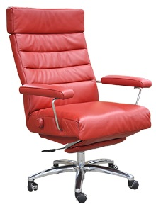 Executive Recliner Adele Executive Chair Lafer Leather Office Recliner