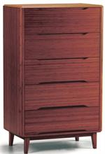 Greenington Bamboo Currant Five Drawer Chest of Drawers