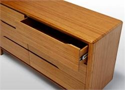 Currant Dresser Six Drawers by Greenington Bamboo Furniture