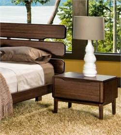 Greenington Bamboo Currant Night Stand Bedroom Furniture