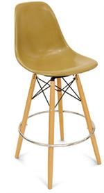 Kitchen Stool Side Shell Dowel Counter Stool Bar Furniture