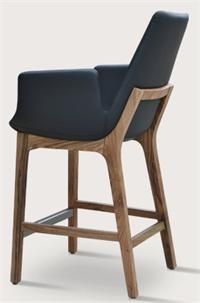 Soho Concept Eiffel Wood Arm Stool Eiffel Wood Barstool