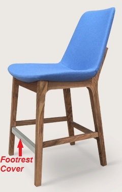 Soho Concept Pera Wood Footrest Cover - also for Eiffel Wood Stools