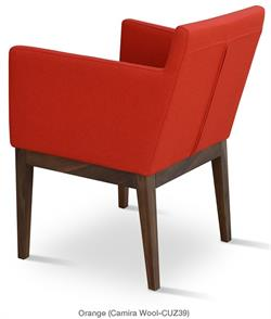 Harput Wood Lounge Chair by Soho Concept Lounge Chairs